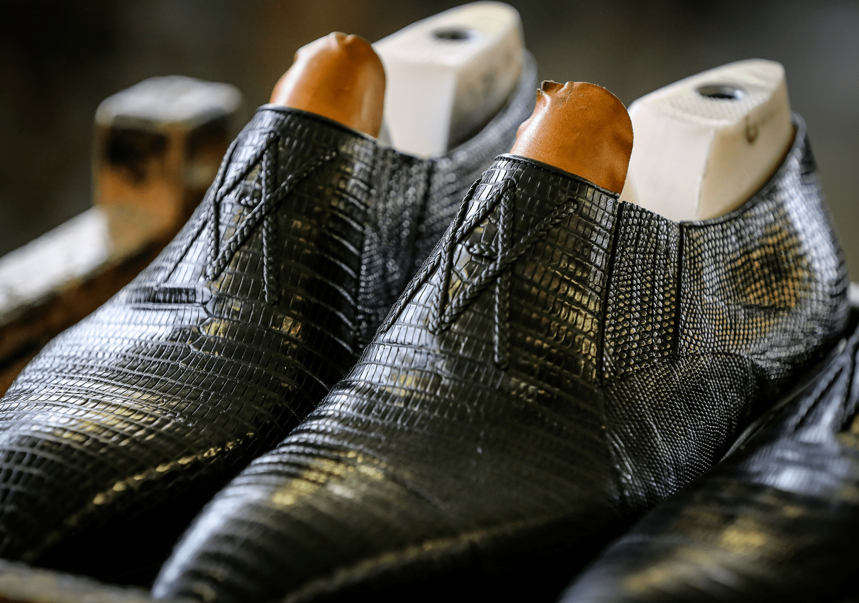 The realization of our luxury shoes