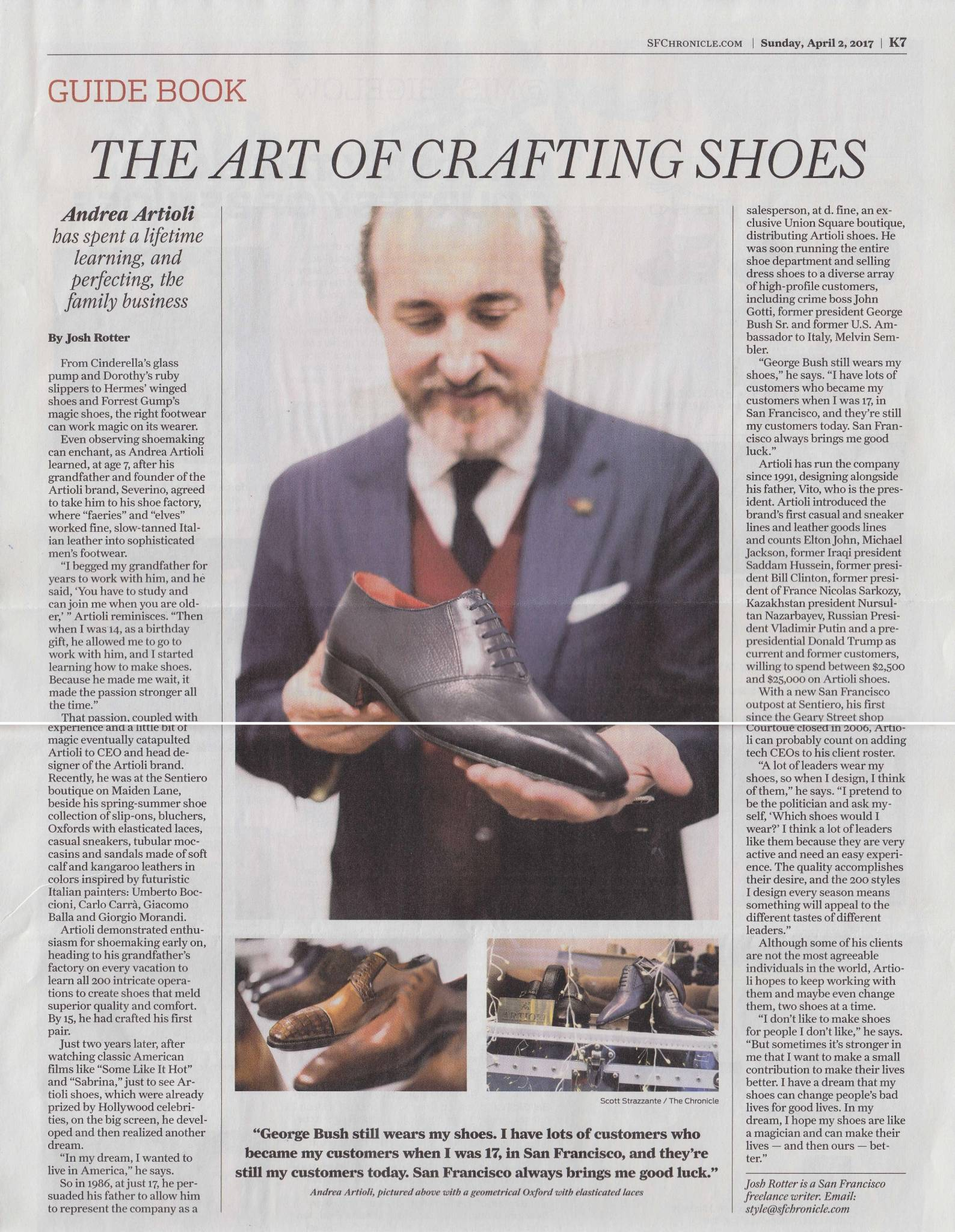 The Art of Crafting Shoes