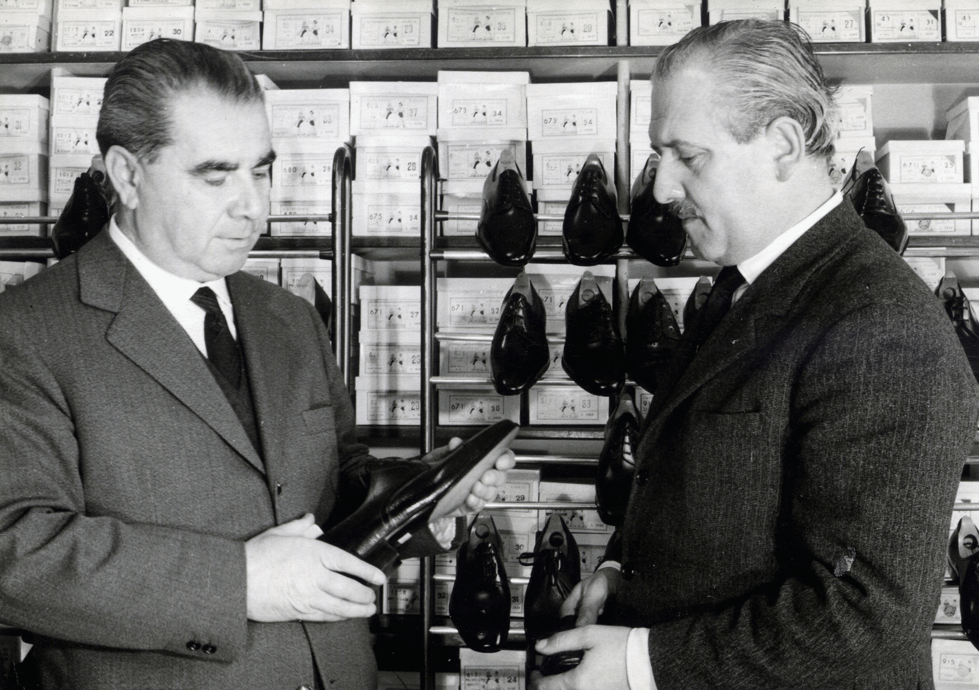 The beginning of men's shoes