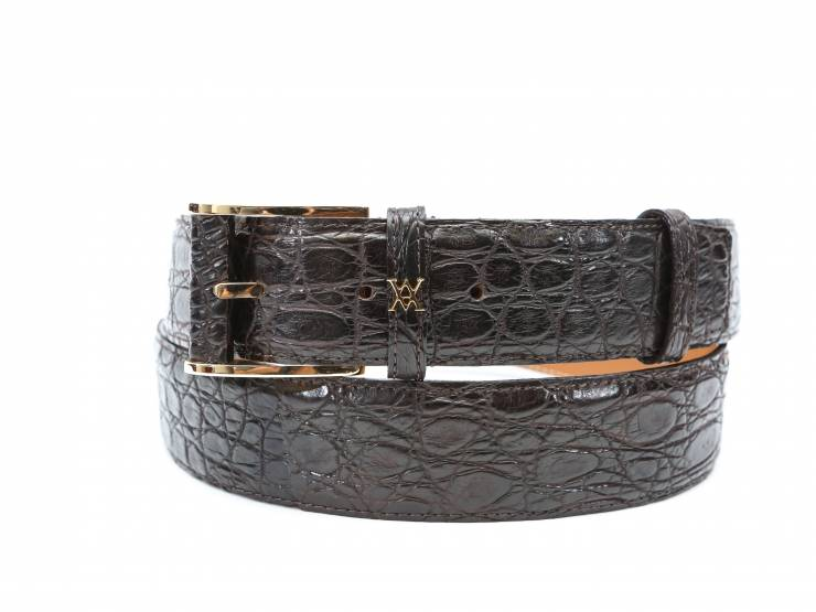 BILL-BROWN CROCODILE-COCCODRILLO MARRONE 01