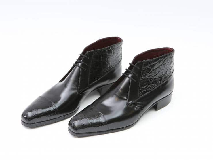 ENEA-BLACK CROCODILE & CALF-COCCODRILLO & VITELLO NERO 01