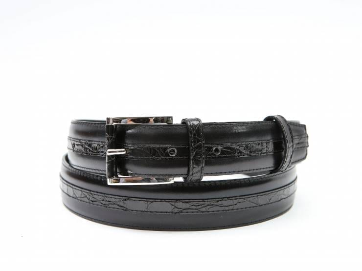 TOM-BLACK CALF & CROCODILE-VITELLO & COCCODRLLO NERO 01