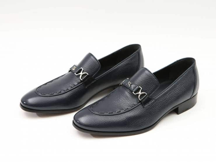VENEZIA-NAVY BLUE DEER & BLUE PIPING-CERVO & GUARNIZIONI BLU 01